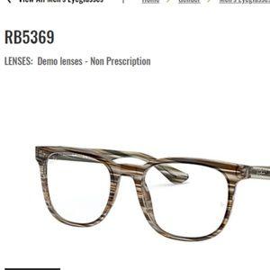 Ray-Ban RB5369 Eyeglass Frames Brown and Grey